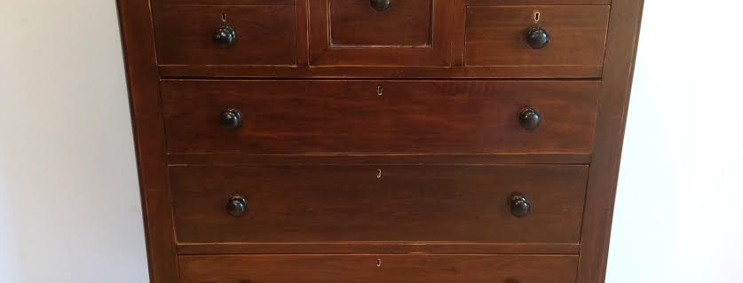 Victorian Cedar Seven Drawer Chest
