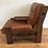 Mid Century Danish Style Leather Armchair