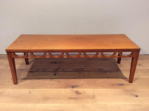 Rare Mid Century Avalon Blackwood Coffee Table Circa 1960 70