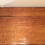 Antique Solid Cedar Three Drawer Desk