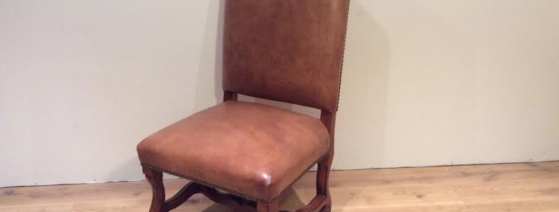 Ralph Lauren Leather Dining Chair