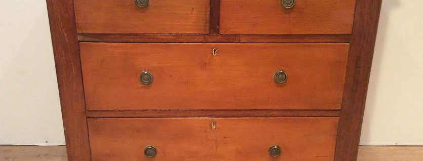 Victorian Three Drawer Chest. Circa 1890