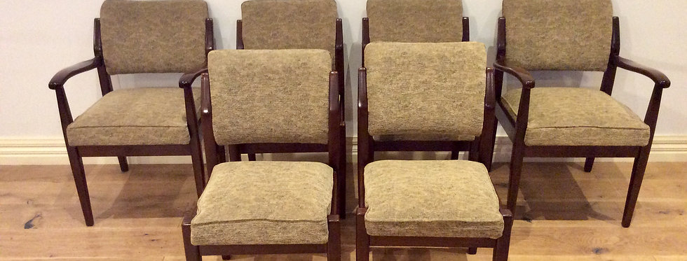 Mid Century Australian Made Dining Chairs.