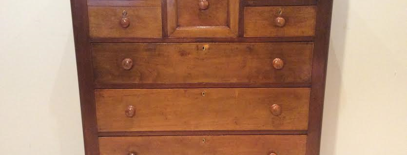 Restored Victorian Cedar Chest of Drawers. Circa 1890