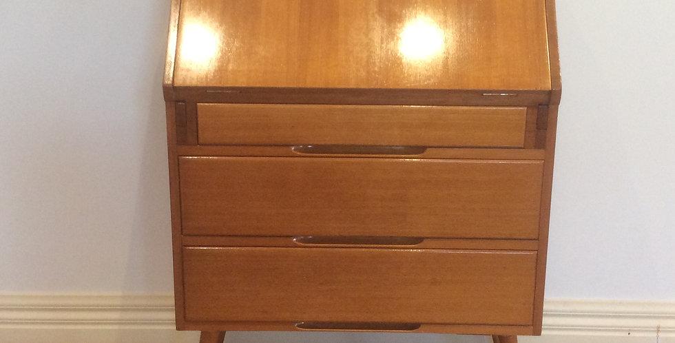 Mid Century Solid Oak Desk