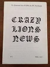 Crazy Lions News 01