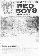 Red Boys Magasine 01