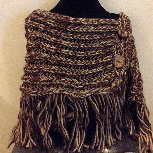 Crochet Sweater Shawl