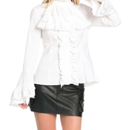 Baroness Blouse White