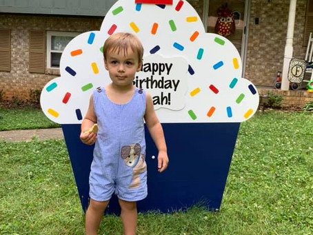 Front Lawn Birthday Signs