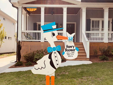 Stork Yard Sign Rentals Atlanta