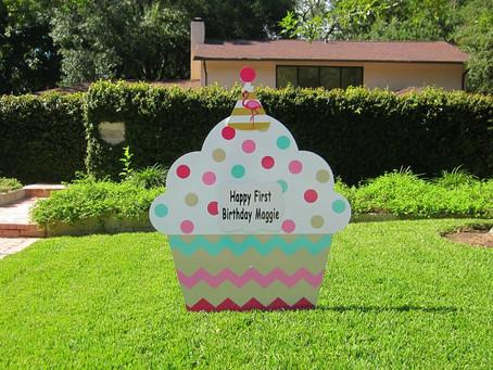 Birthday Front Yard Signs