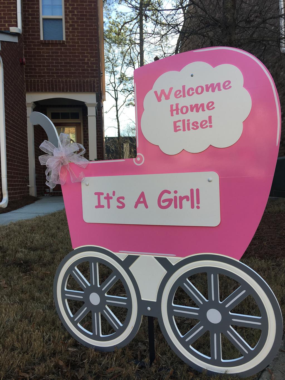 Baby Yard Signs Atlanta