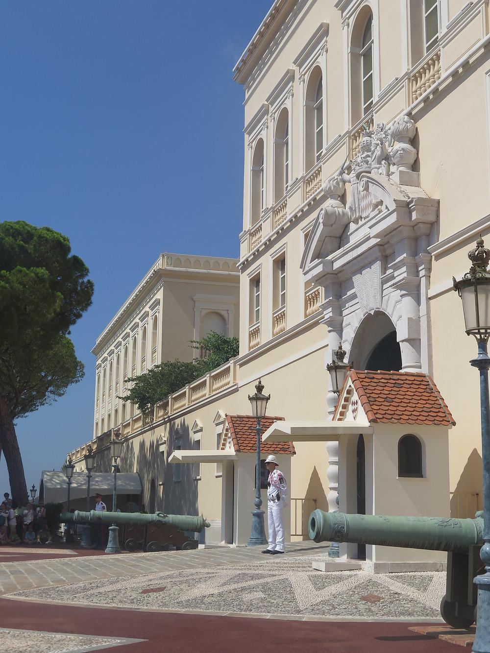 Cambio de guardia Mónaco
