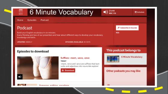 Podcasts para aprender online