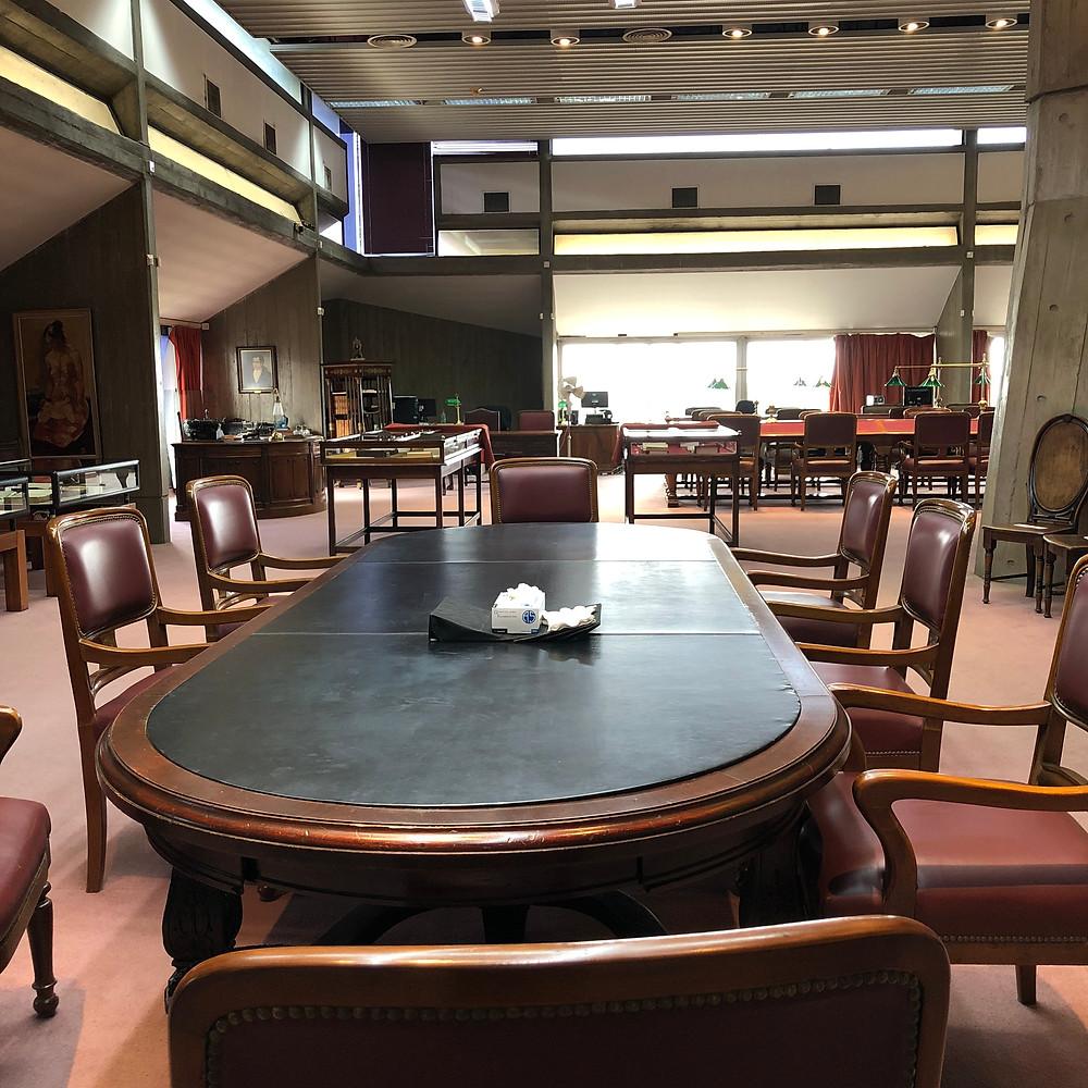 Sala del Tesoro Biblioteca Nacional