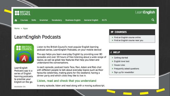 Apps para aprender inglés online