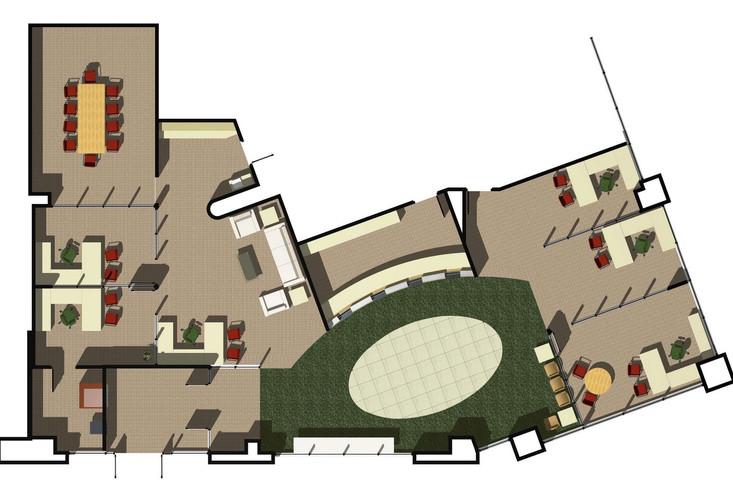 Harbor Bank, BioResearch Branch, Floor Plan