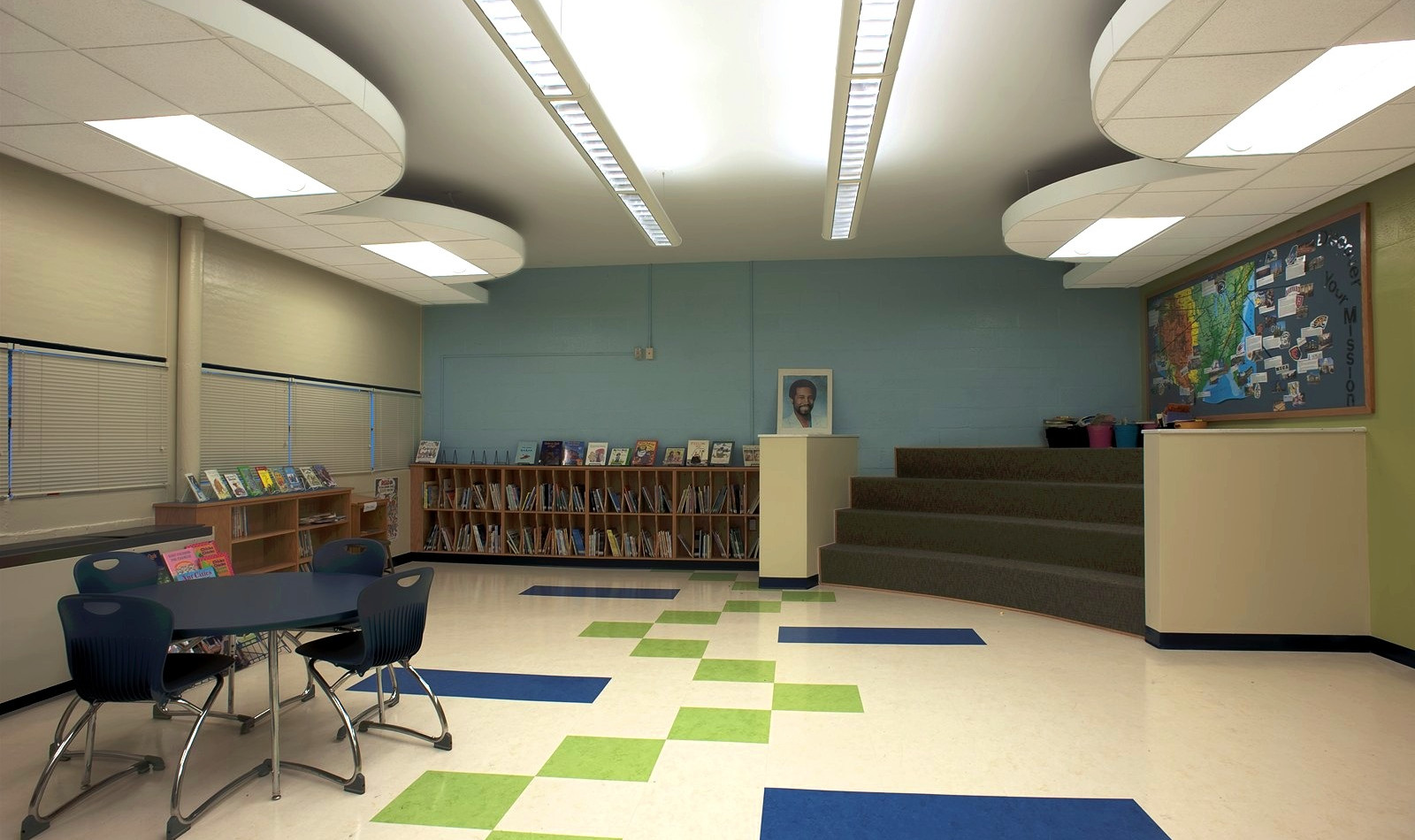 Holabird Academy - Media Center Renovation