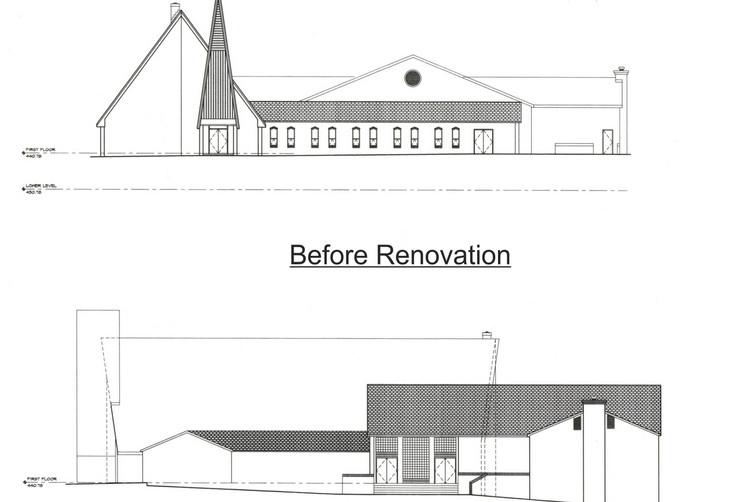 Bethany United Methodist Church - Before Renovation