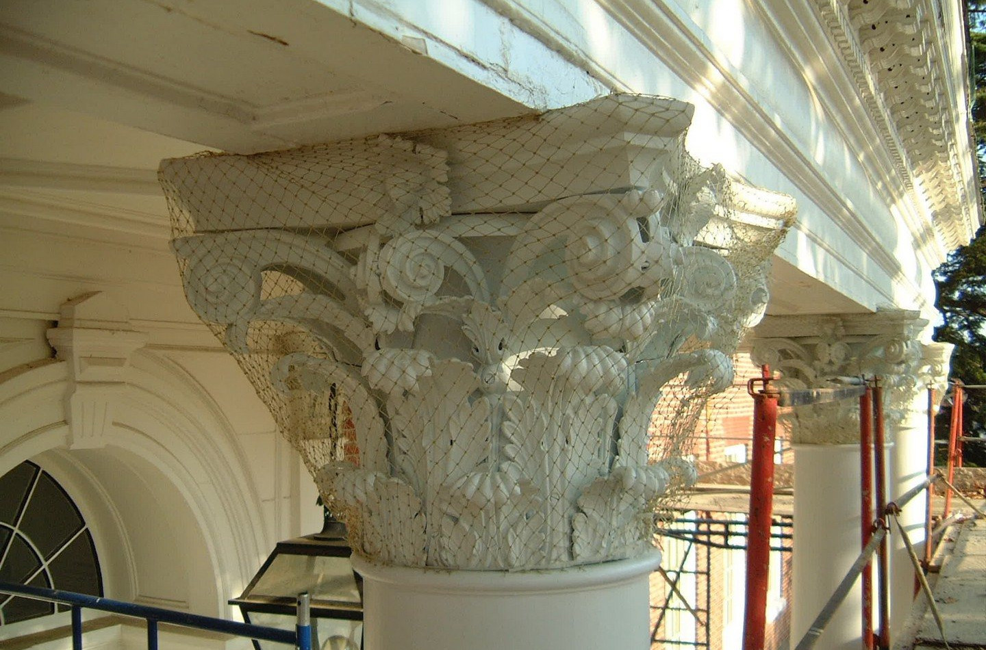 Maryland State House - After Column Restorationns