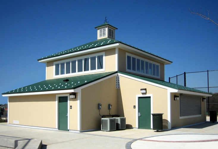 Western Regional Park Baseball Field House