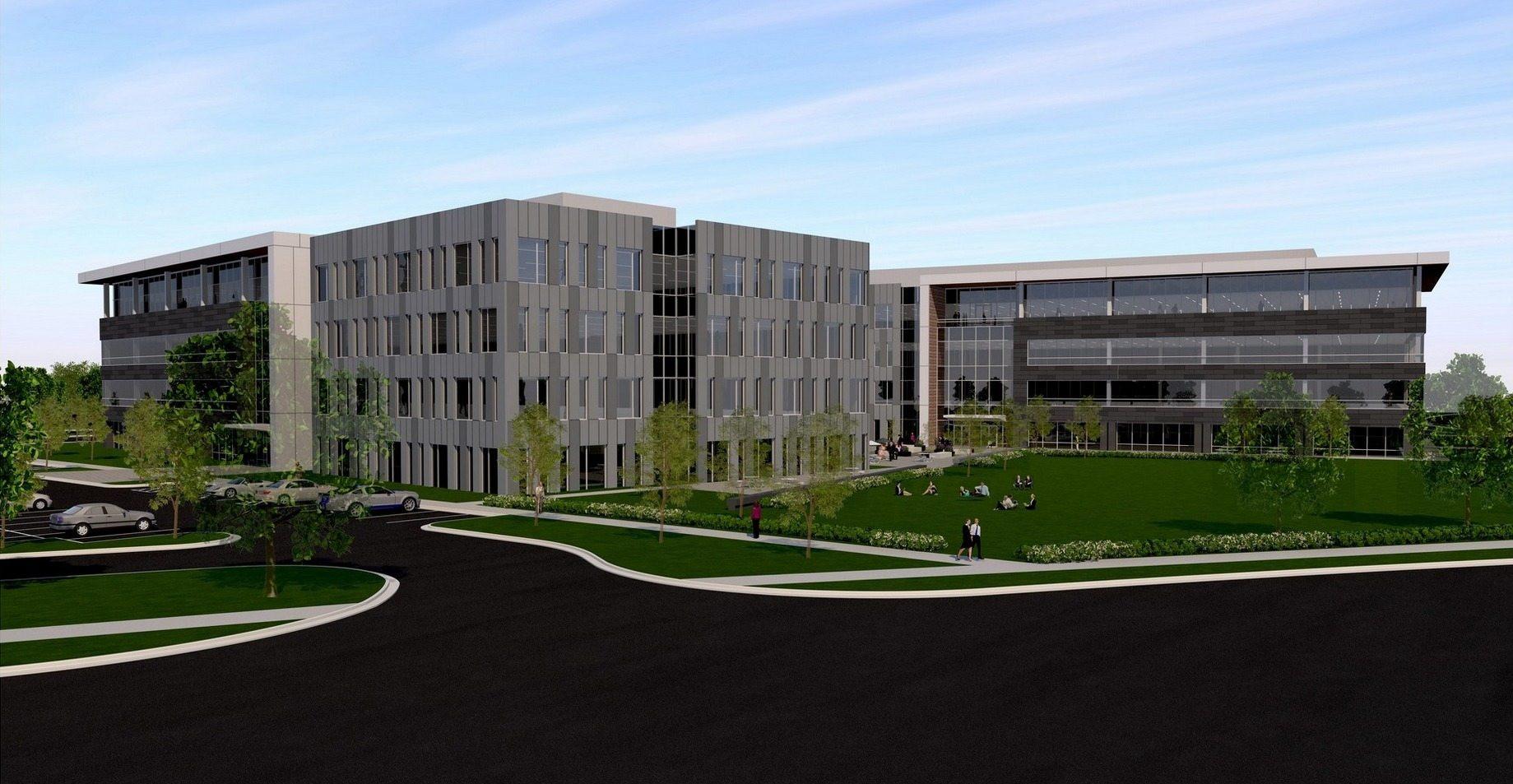 Southridge Office Park - Four Story Concept