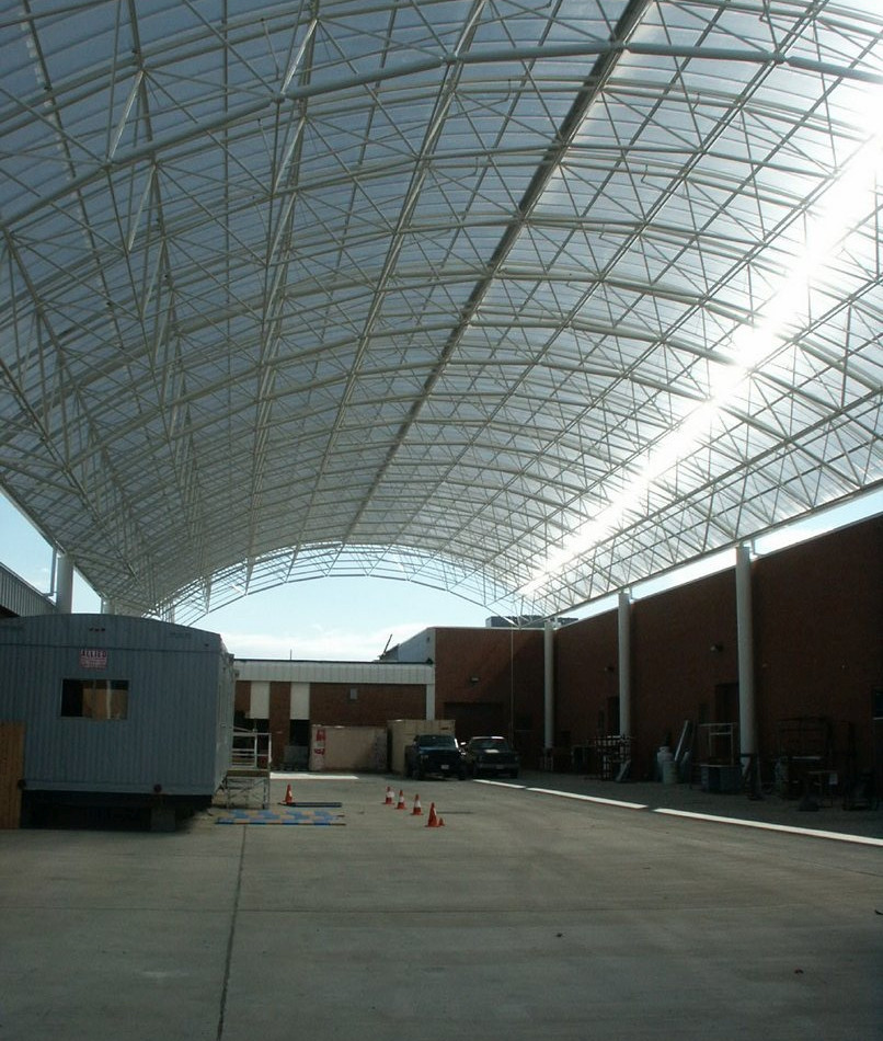 Forrest Tech Center, Building Trades Courtyard - Exterior