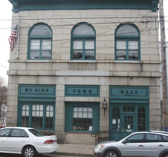 Mount Airy Town Hall - Before Renovation & Restoration