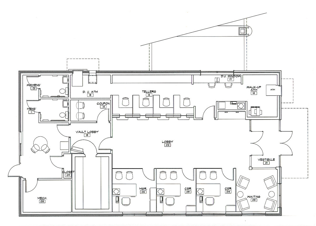 The Columbia Bank, Timonium - Floor Plan