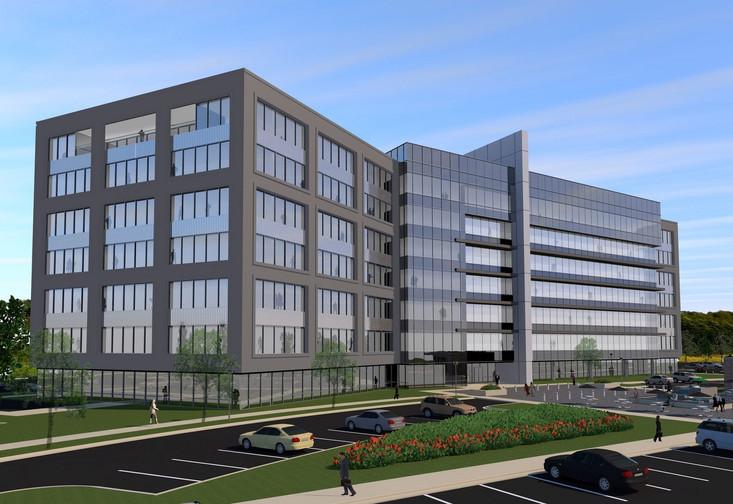 Southridge Office Park - Seven Story Concept