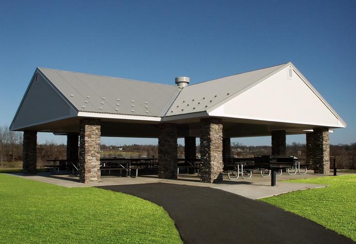 Meadowbrook Park Large Picnic Pavilion