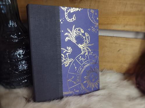Handbound Hard Cover Journal - Zodiac