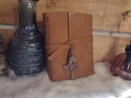 Leather Journal - Ginkgo Charm