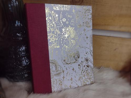 Handbound Hard Cover Journal - Storybook Animals