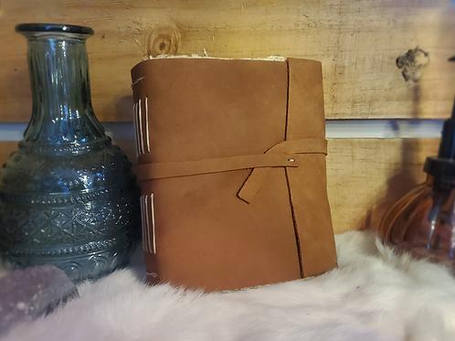 Leather Journal - Handmade Paper