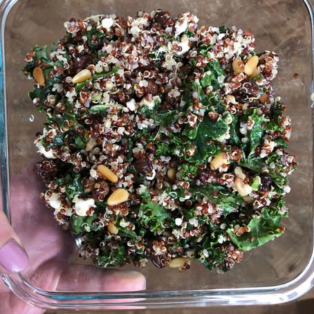 Lemon Kale Quinoa Salad