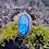 Thumbnail: Large labradorite ring