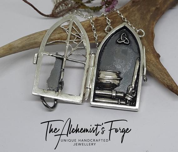 Charmed Locket Necklace (Open)