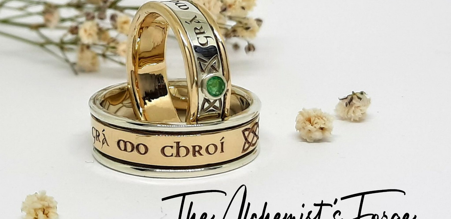9ct gold wedding bands