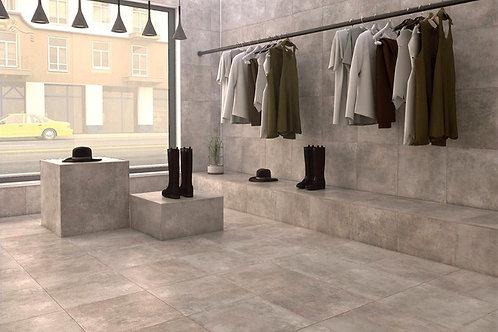 Cement Grey 450 x 450