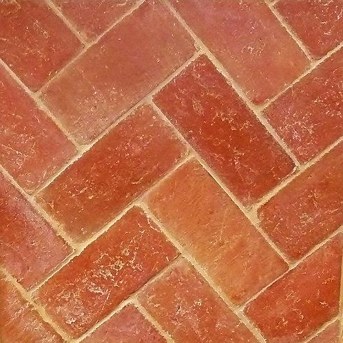 Handmade Red Terracotta 110 x 240