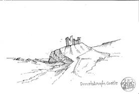 David Smith - Dunstanburgh Castle
