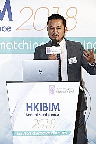 Han Hoang at HKIBIM Annual Conference 2018