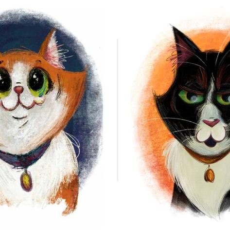 Pet Portraits: Ginger and Igmu