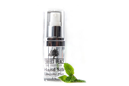 Hand Silk Lavender Mint