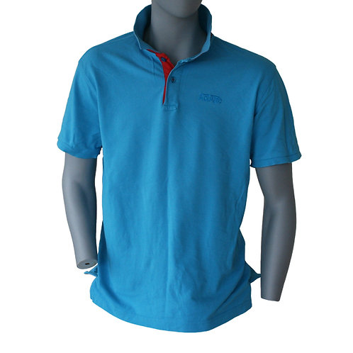Classic fit contrast polo