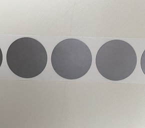 "1"" Round Coloured/Plain Scratch Off Stickers"