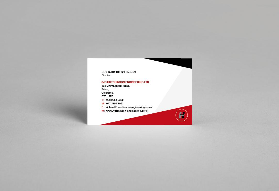 hutchinson 2 business card