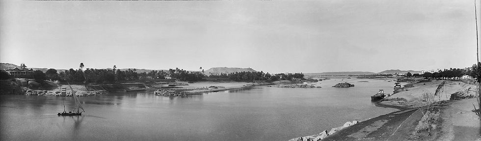 Nile and Aswan, Egypt | Old Photos | ZolotarevArchives.com